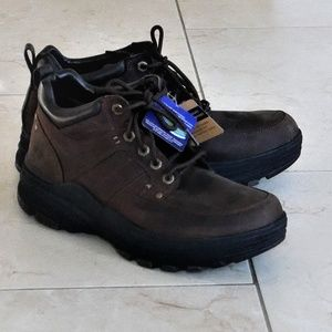 NWT Skechers Relaxed Fit Holdren Lender Men's Boot